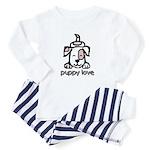 Puppy Love Baby Pajamas