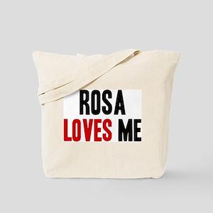 Rosa loves me Tote Bag