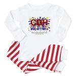 CDH Superhero Stars Logo for Boys Baby Pajamas