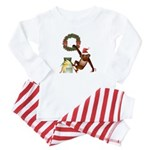 A Merry Monkey - Baby Pajamas