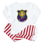 USS LEWIS AND CLARK Baby Pajamas