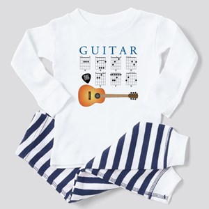 Guitar 7 Chords Baby Pajamas
