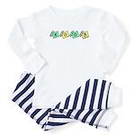 Noob (diaper pin design) Baby Pajamas