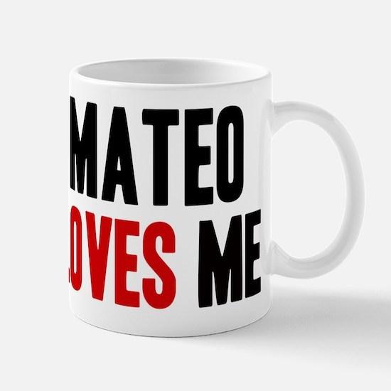 Mateo loves me Mug