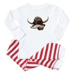 Cow Tongue Baby Pajamas