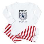 Jerusalem Emblem Baby Pajamas