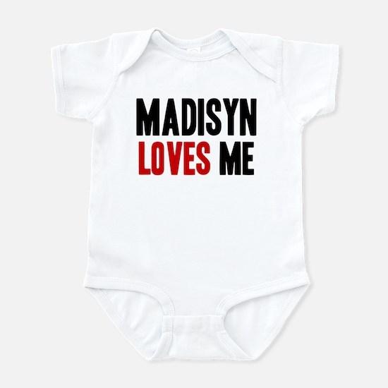 Madisyn loves me Infant Bodysuit