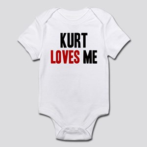 Kurt loves me Infant Bodysuit