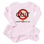 iamNOTaQuitter.com Baby Pajamas