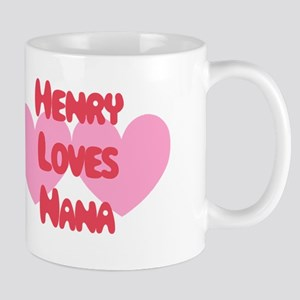 Henry Loves Nana Mug