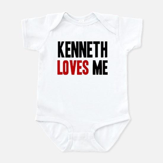 Kenneth loves me Infant Bodysuit