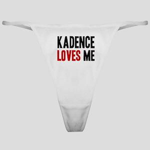 Kadence loves me Classic Thong