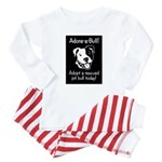 Adore-A-Bull 2! Baby Pajamas