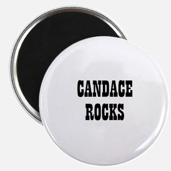 CANDACE ROCKS Magnet