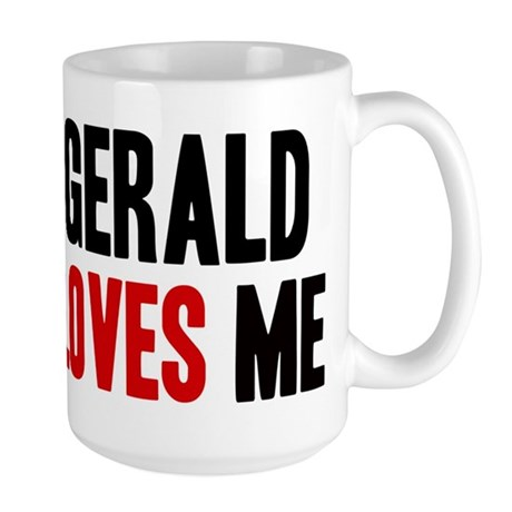Gerald loves me Large Mug