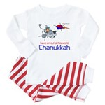 Out of this world Chanukkah Baby Pajamas