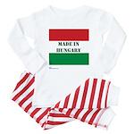 """""""Made in Hungary"""" Baby Pajamas"""