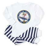USS JOHN W. THOMASON Baby Pajamas