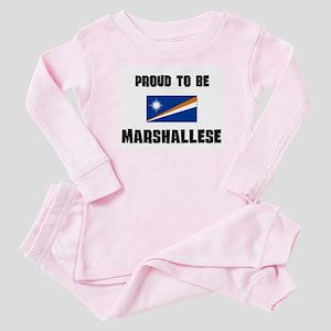 Marshall Islands Baby Pajamas - CafePress cda906f58