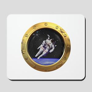 Space Porthole Mousepad