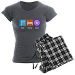 Eat Sleep Lost Women's Charcoal Pajamas