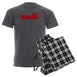 Evil Men's Charcoal Pajamas
