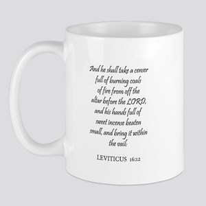 LEVITICUS  16:12 Mug