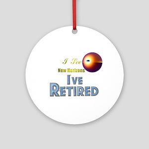 'I See New Horizons. Ornament (Round)