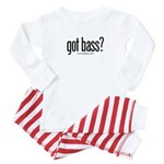 got bass?  Baby Pajamas