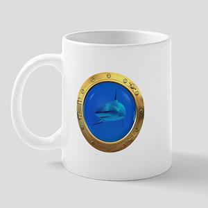 Shark Porthole Mug