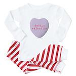 Daddys Valentine Baby Pajamas