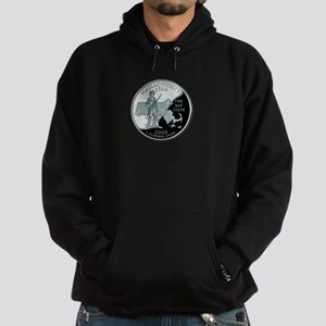 Massachusetts State Quarter Hoodie (dark)