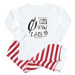 Phi Collage Baby Pajamas