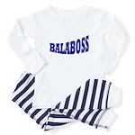 Yiddish BALABOSS Baby Pajamas