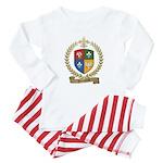 VIENNEAU Family Crest Baby Pajamas