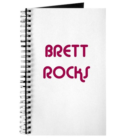 BRETT ROCKS Journal