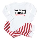 Bow To Your Sensei Baby Pajamas
