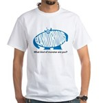 Playnormous Blue Monster T-shirt (white)