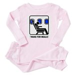 WAKE For MEALS! Baby Pajamas