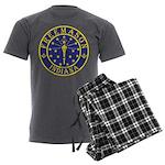 Indiana Free Masons Men's Charcoal Pajamas