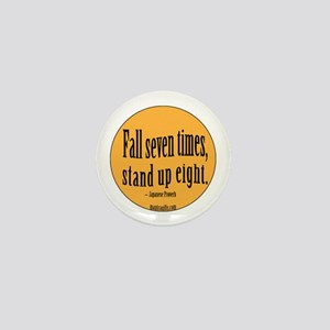 Stand Up Proverb Mini Button