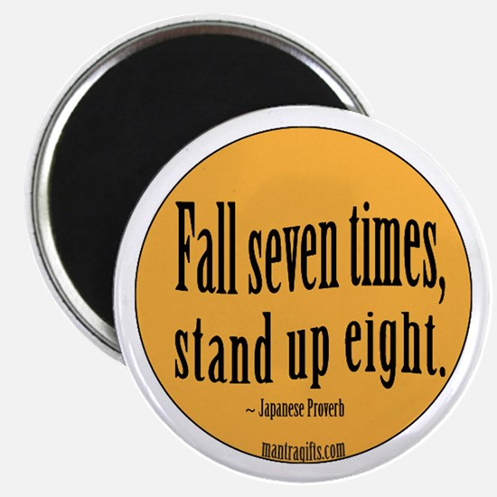 Stand Up Proverb Magnet
