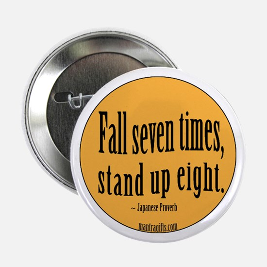 """Stand Up Proverb 2.25"""" Button"""