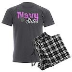 Navy Sister Men's Charcoal Pajamas
