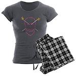Born 2 knit Women's Charcoal Pajamas