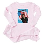 Dave Barry For President Baby Pajamas