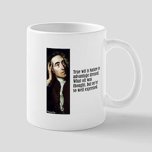 "Pope ""True Wit"" Mug"