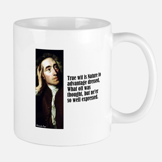 "Pope ""True Wit"" Mug"