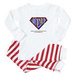CDH Superhero Logo for Boys Baby Pajamas