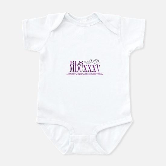 BLS frieze Infant Bodysuit